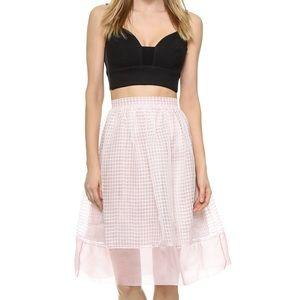 Elizabeth and James Avenue Skirt. Pink, size 6